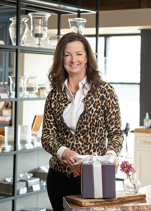 Julie Martin, showroom manager, Delbert Adams Construction Group