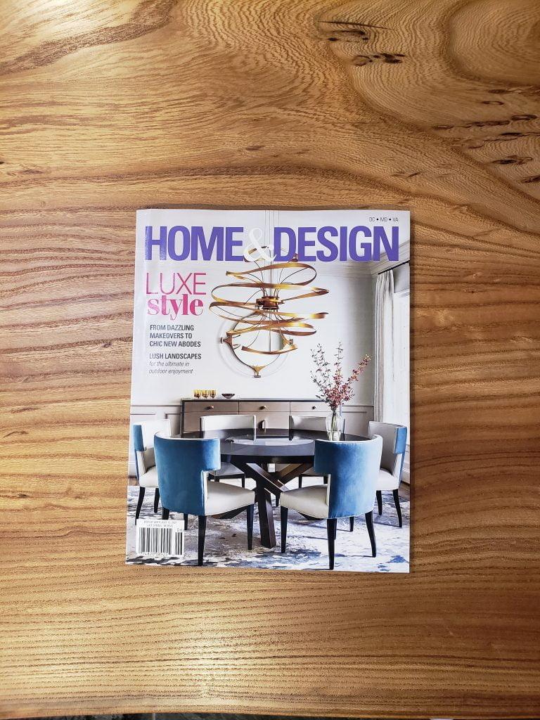 Home & Design magazine (cover)