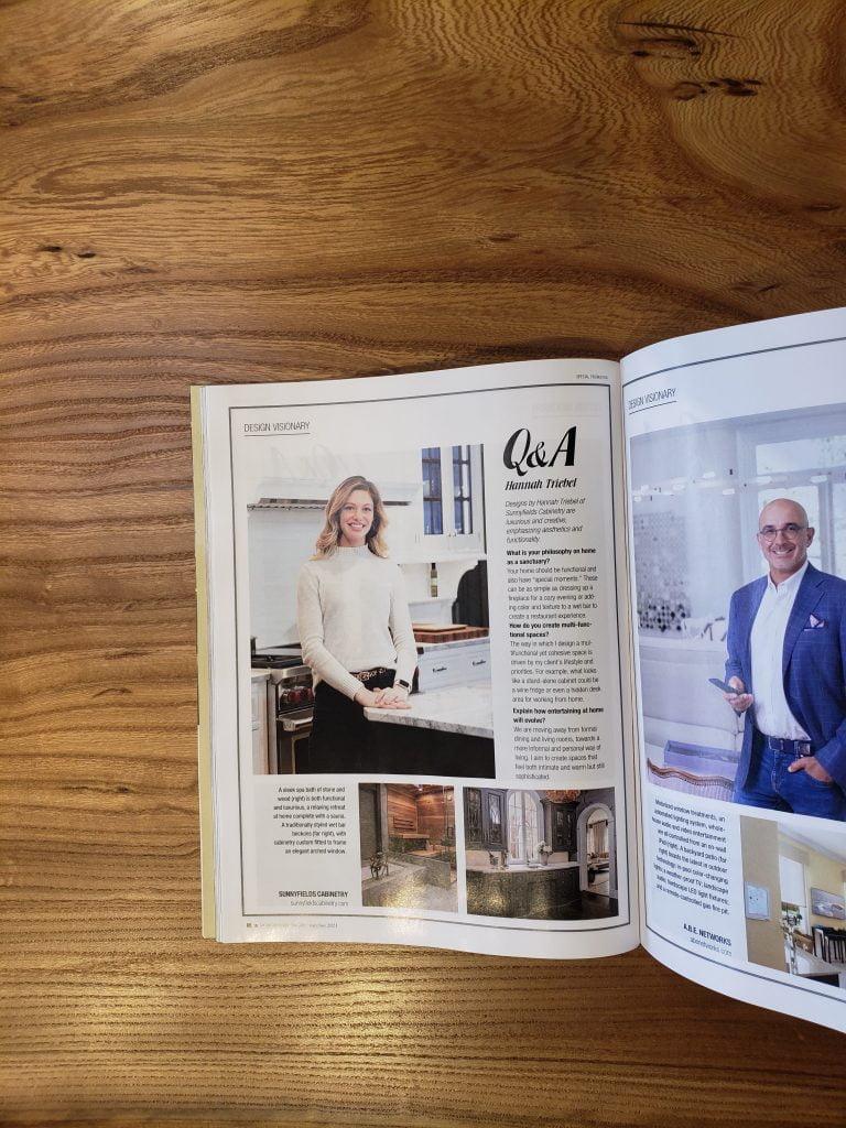 Home & Design magazine, Hannah Treibel Q&A